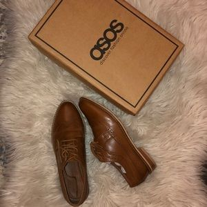 BRAND NEW Asos Leather Brogues